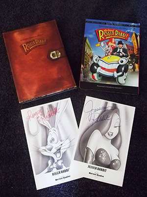 Film covers from Roger Rabbit DVDs