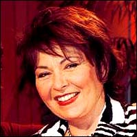 Roseanne, actress and comedian.