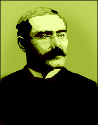 Author Rudyard Kipling.