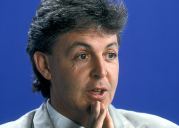 Paul McCartney, producer of Rupert the Bear and the Frog Song