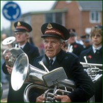 A Salvation Army band.