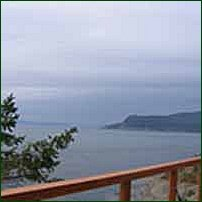 A view of Saturna Island.