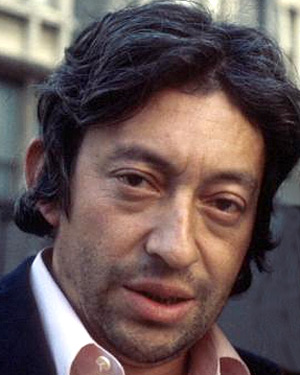 The legendary Serge Gainsbourg.