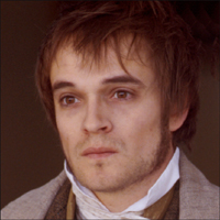 Picture shows actor Oliver Dimsdale as Percy Bysshe Shelley.