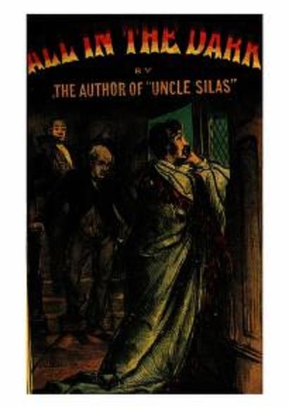 A spooky book cover.