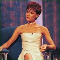 Victoria Beckham, whose name is often mentioned in the 'Size Zero' debate.