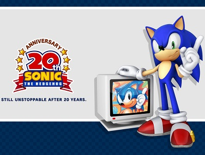 Sonic the Hedgehog's 20th Century Anniversary - Image credit: copyright Sega