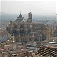 The Capilla Real, Granada, where Fernando and Isabel are entombed.