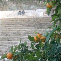 The Roman amphitheatre in Malaga, Spain.