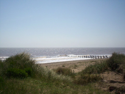 The North Sea from Spurn, by Galaxy Babe