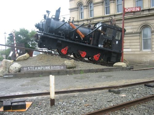 Steam Punk at Oamaru, New Zealand