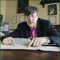 Topical: Happy Birthday Stephen Fry