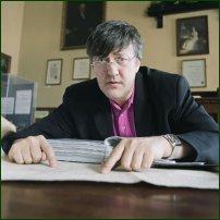 Stephen Fry.