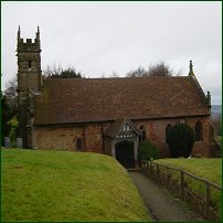 St Kenelm's Church, Romsley, Worcestershire, UK.