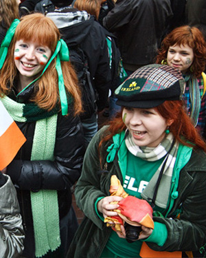 St Patrick's Day celebrations in Moscow in 2010