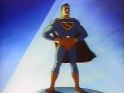 Superman's Wartime Animation
