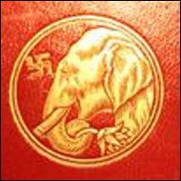 Image from the front cover of the 1920 book 'Captains Courageous' by Rudyard Kipling.
