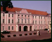 The Estonian Parliament Building.