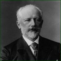 Pyotr Ilyich Tchaikovsky, 1840 - 93.