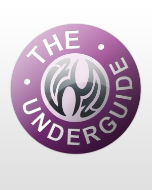 A crest bearing the legend The UnderGuide