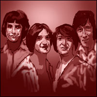 Pop legends The Kinks.