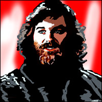 Kurt Russell as MacReady, star of John Carpenter's The Thing.