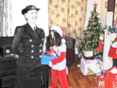 A Christmas memory.