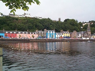 Tobermory Village, Isle of Mull, Scotland.