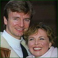 Jayne Torvill and Christopher Dean.