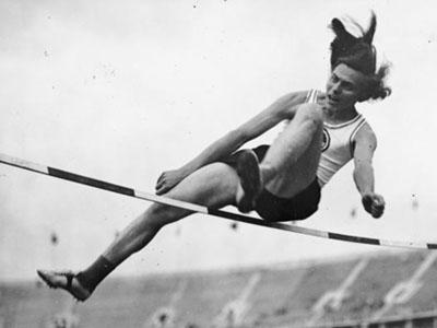 Olympian Dora Ratjen.