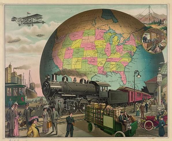 Transportation in the 20th Century.