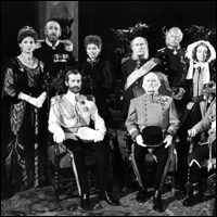 From TV adaptation 'Fall of Eagles: Death Waltz': Tsar Nicholas II, Anastasia's father, and assorted members of the last old powerful monarchies of Europe.