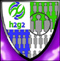 The Shield of the h2g2 University's Faculty of Social Sciences. The shield depicts the h2g2 logo and rows of figurative people.
