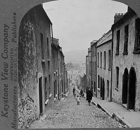 A Cork street.