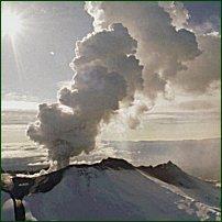 A volcano: source of the dust that causes pneumonoultramicroscopicsilicavolcanoconiosis.