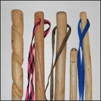 Walking stick handles.