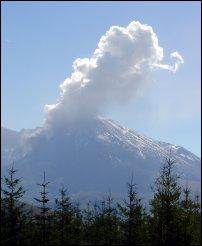 Mount St Helens, Washington.