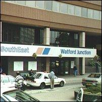 Watford Junction railway station.