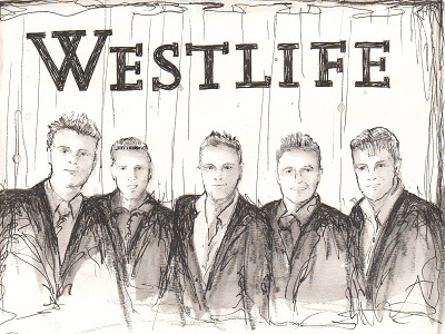 The Irish Boy Band Westlife.