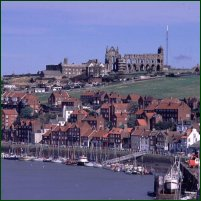 The Yorkshire town of Whitby.