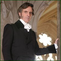 Actor Martin Turner as William Wilberforce.