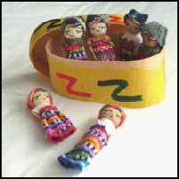 Some worry dolls.