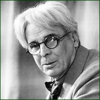 WB Yeats in 1937.