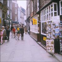 A York street.