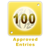 100 Approved Entries
