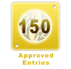 150 Approved Entries