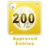 200 Edited Entries