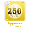 250 Approved Entries