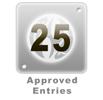 25 Edited Entries