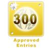 300 Edited Entries